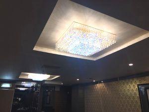 愛知県名古屋市中区店舗内照明器具「照明一つでここまで変わるんですね!」リフォームの電気工事店【株式会社さつき電気商会】