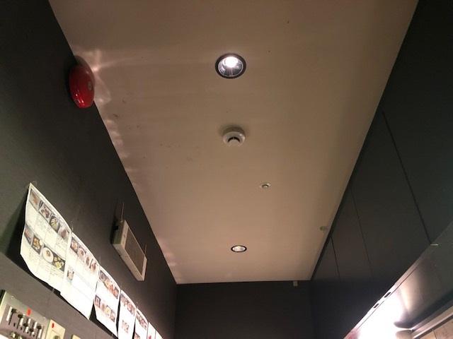 愛知県名古屋市中村区飲食店照明器具LEDダウンライト「LEDってこんなに明るいんですね!」電気工事店【株式会社さつき電気商会】