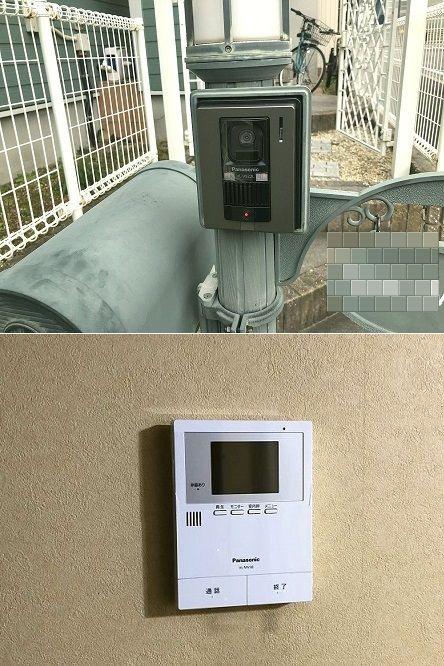 愛知県名古屋市緑区「故障したインターホンを取り替えました!」住宅用インターホン電気工事店【株式会社さつき電気商会】
