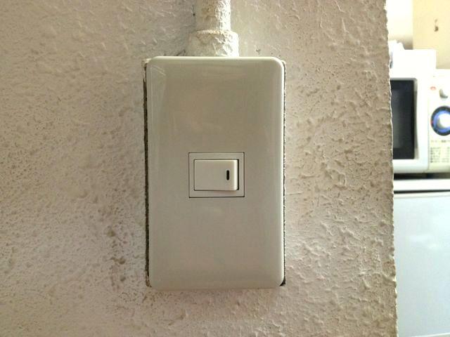愛知県一宮市「故障した古い型のスイッチを新しく致しました!」スイッチ取替電気工事店【株式会社伊藤電氣工業】