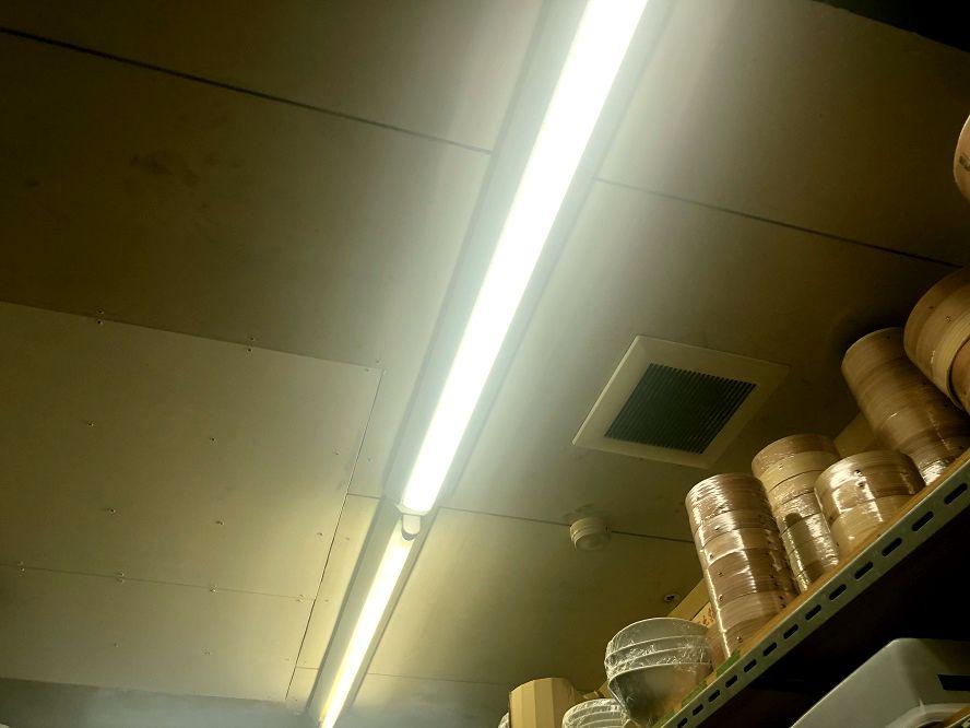 愛知県春日井市「手元が良く見えるので料理がしやすいです!」照明器具LED化の電気工事店【株式会社さつき電気商会】