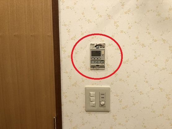 愛知県名古屋市中区 ホテル 空調機工事店「ホテルの空調機のファンコイルは中央制御になっている。全く使用しない部屋のファンコイルが1日中稼働していることもあるので単独制御に切り替えたい。リモコン取替などの電気工事をお願いしたい。」ファンコイル リモコン取替工事【株式会社さつき電気商会】