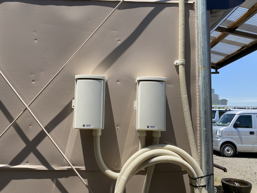 愛知県名古屋市港区 会社事務所 電気工事店「会社の事務所に機械設備を導入し、また今後も動力設備を導入する計画がある。現状、電灯の契約しかしていないので動力電源を引き込みたい。」動力電源の引込口配線工事【株式会社さつき電気商会】